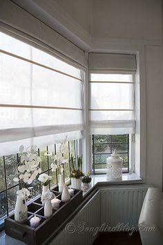 Bedroom Blinds Grey