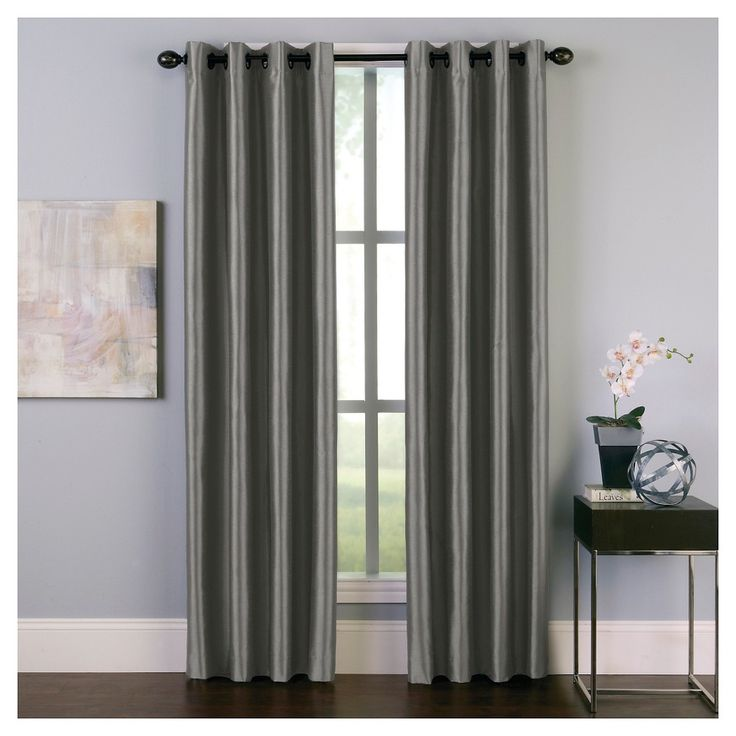 best 25 room darkening curtains ideas on pinterest curtain tutorial diy drapery rings and. Black Bedroom Furniture Sets. Home Design Ideas