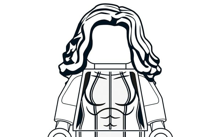 lego magneto coloring pages - photo#31
