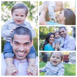Brooke Wedlock Photography - Sweet happy family #familyportraits #torontophotographer #littleboy #autumn #happybaby #familyphotographer