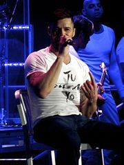 """Famous Musicians- A very famous musician in Puerto Rico named Ricky Martin won many hearts! Ricky was born on December 24, 1971. When he was twelve he was in a all-boy band called """"Menudo"""".After five years with the group, he released Spanish-language solo albums throughout the 1990s. In 1994 he starred on the American TV soap opera General Hospital, playing a Puerto Rican singer.He has 6 Grammy Awards, 8 World Music Awards, 10 Billboard Music Awards, 8 MTV Music Video Awards,"""