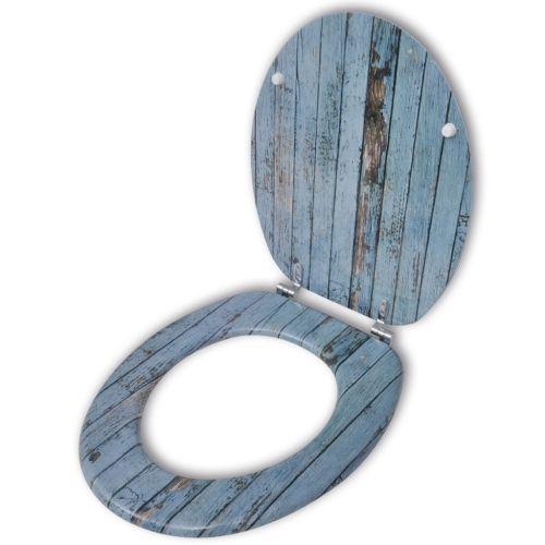(60.2$)  Watch here - http://aiy4l.worlditems.win/all/product.php?id=141479DE - Coperchio da Toilette in MDF con Modello Legno Invecchiato