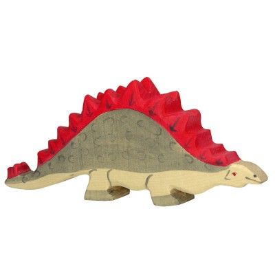 Un stegosaure en liberté