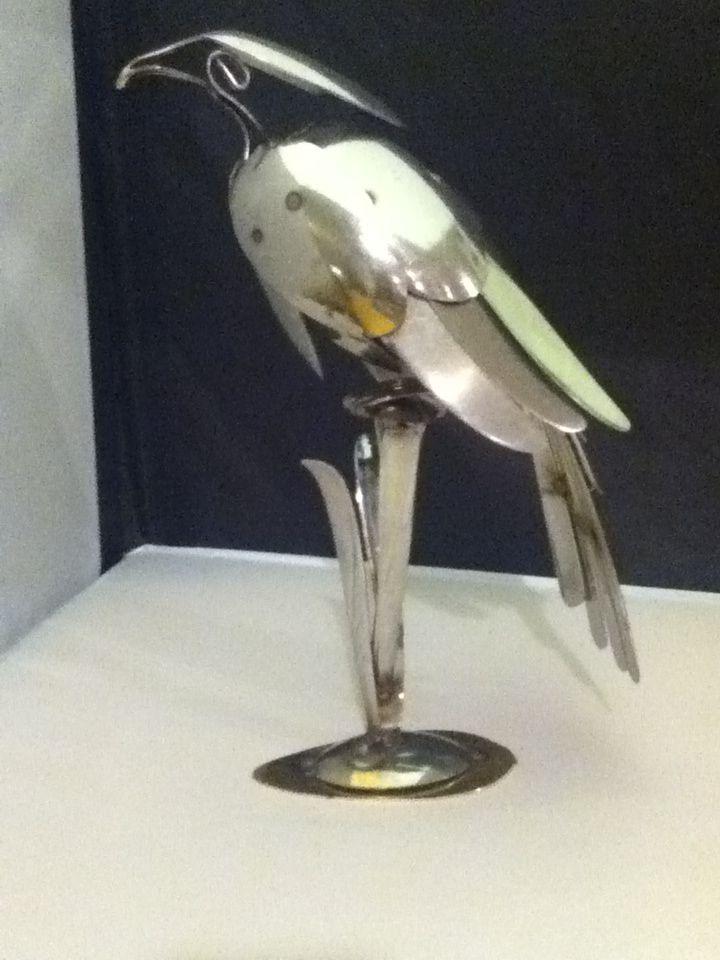 Falcon Flatware Sculpture