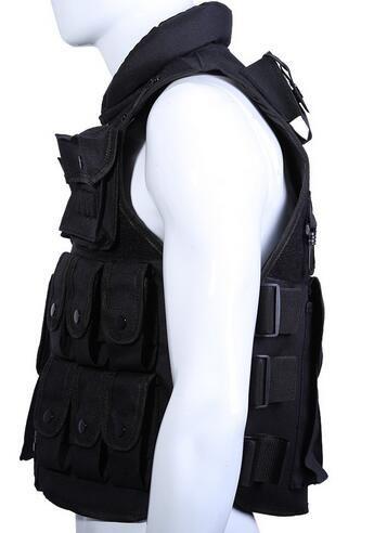CS Outdoor Vest Tactical Vest Cool Men Hunting Vest Outdoor Training Military Army Swat Vests Men Waistcoat Protective Equipment