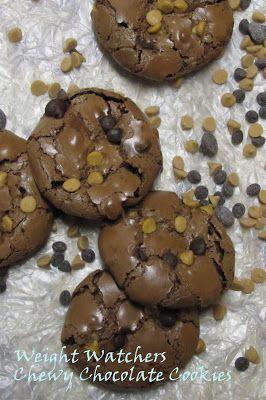 2WW point cookies   ~ Chewy Chocolate Cookies