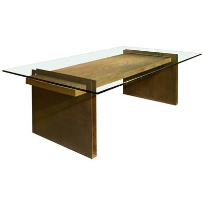 Contemporary Dining Table from Rotsen Furniture, Model: Chapa Metal Base