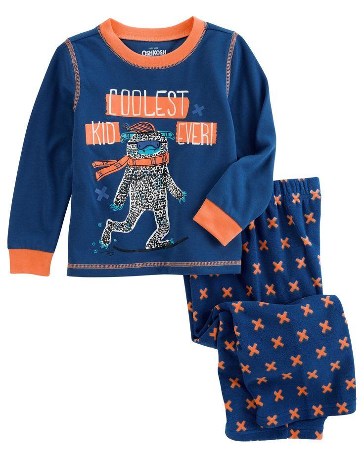 Toddler Boy 2-Piece Cool Kid PJs | OshKosh.com