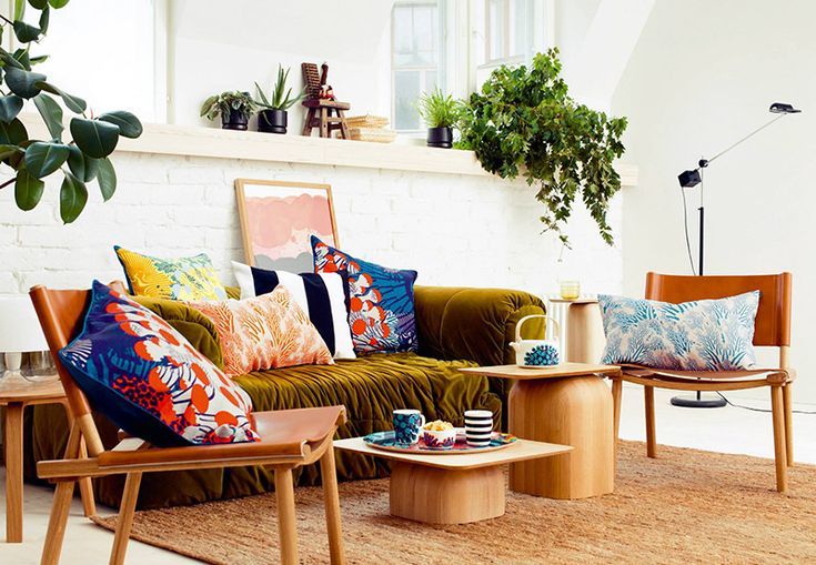 Kustaa Saksi's Bold, Colorful SS15 Collection for Marimekko