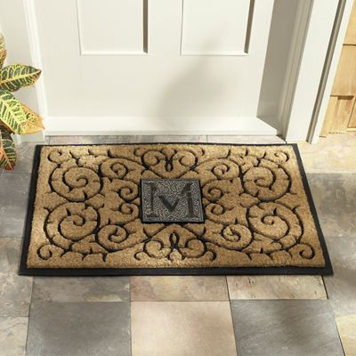Warmly welcome guests to your home (and encourage them to wipe their feet!) with this impressive mat from Country Door.
