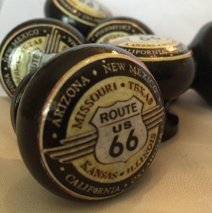 Route 66 Mortice Door Drawer Cupboard Knob