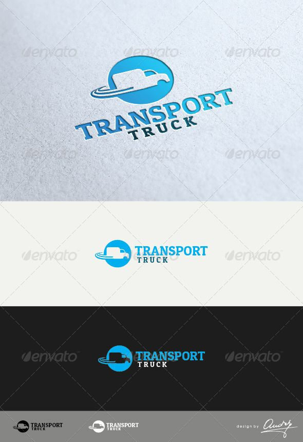 Truck Transport Logo Design