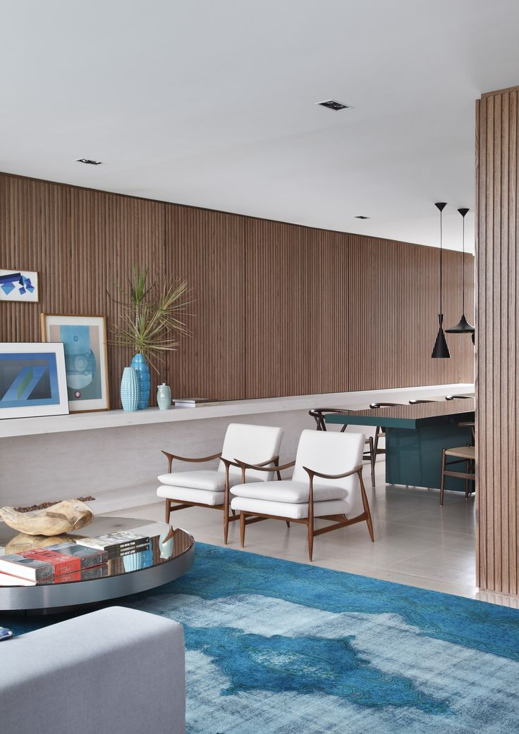 VD House Is A Private Residence Designed By Studio Guilherme Torres   Itu0027s  Full Of Wood And Shades Of Blue, Classic Furniture And Art Objects. Gallery