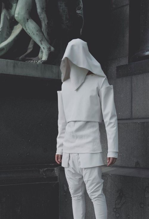 in the future we all rock white and there is no such thing as modern fashion or…