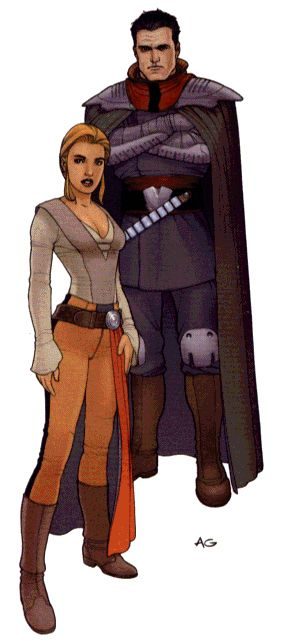 An example of Emperor's Hand characters. Covert agents who answer to the supreme ruler of the Galactic Empire.