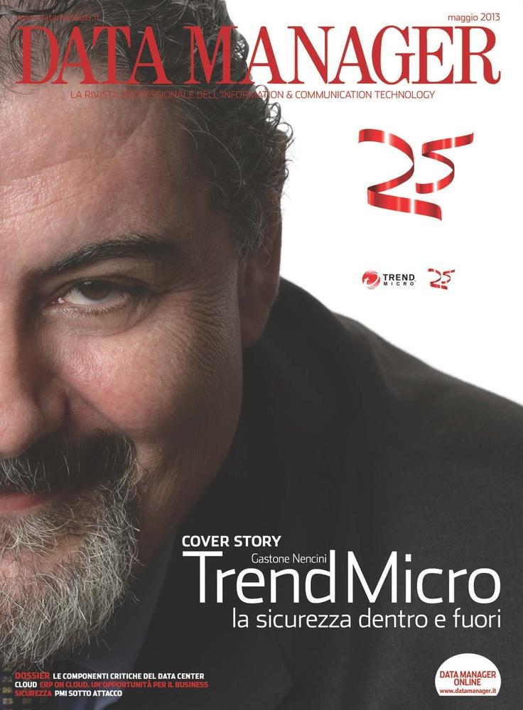 La copertina di Maggio 2013