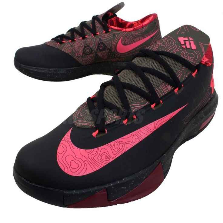 sneakers for cheap 7cc1e 81be0 ... Details about Nike KD VI 6 Air Max Zoom Thunder Kevin Durant 5 4 Mens  Basketball ...
