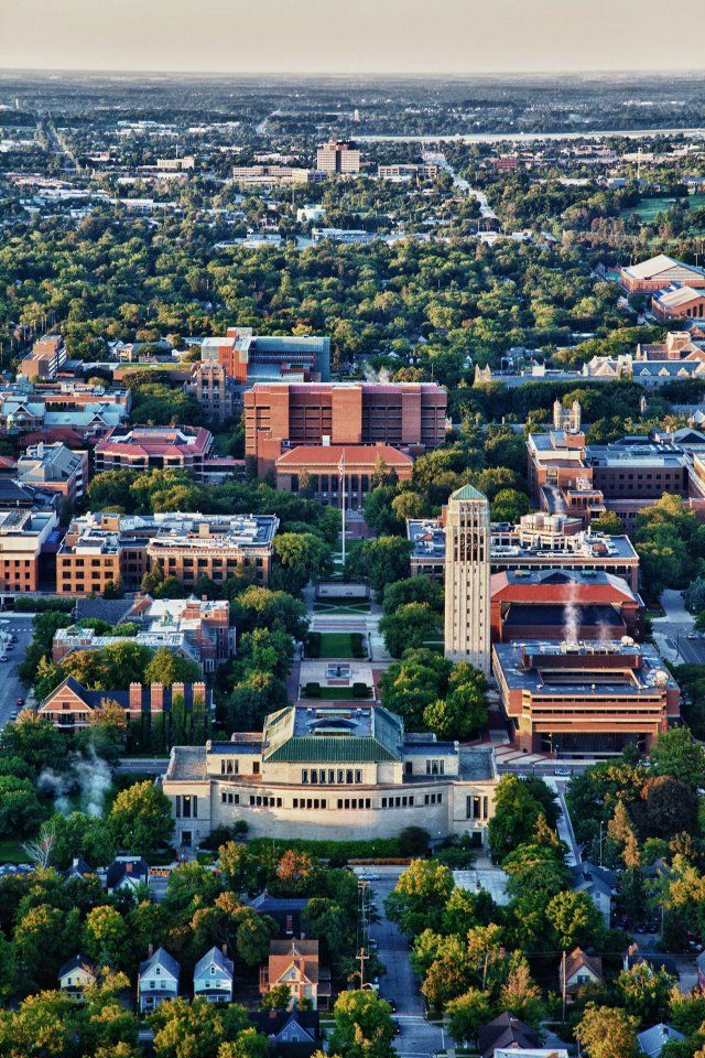 Ann Arbor, Michigan ...truly a beautiful city.
