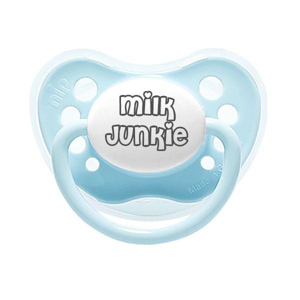 Milk junkie, Blue.