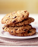 Cranberry Oatmeal Cookie Recipe...add white chocolate chips for an even yummier cookie.  works with fresh cranberries, too