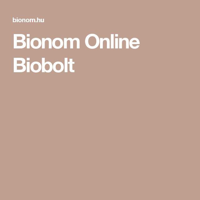 Bionom Online Biobolt