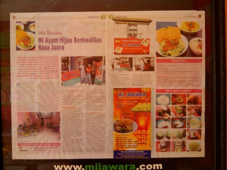 Liputan Mijawara tabloid Lezzat