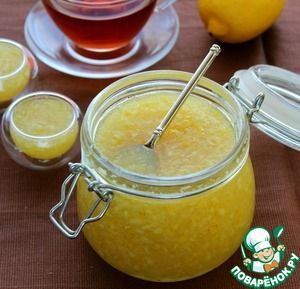 """Рецепт: Лимонно-имбирная смесь """"Здоровье"""""""