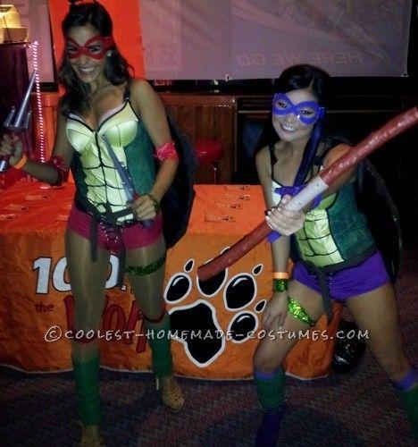 62 best ninja turtle costume ideas images on pinterest halloween sexy homemade teenage mutant ninja turtles costumes solutioingenieria Gallery