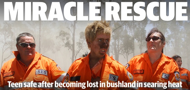 See tomorrow's West Australian for a stunning set of pictures from this amazing rescue against the odds!