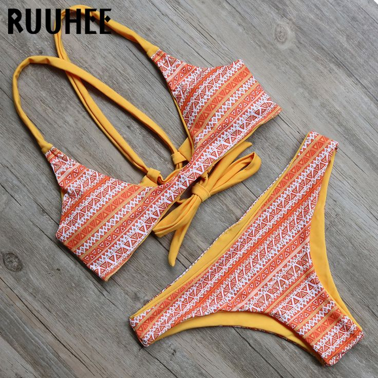 2016 Biquini Push up Bathing Suit Sexy Women Swimsuit Swimwear Padded Beachwear Brazilian Bikini Set Bikinis maillot de bain #men, #hats, #watches, #belts, #fashion