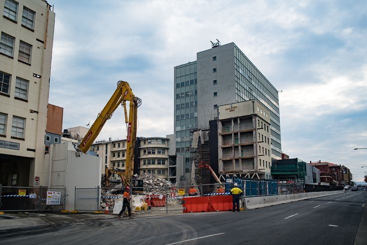 A work in progress, Royal Hobart Hospital
