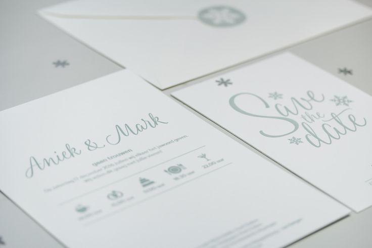Handgemaakte letterpress trouwkaarten | Studio Moose