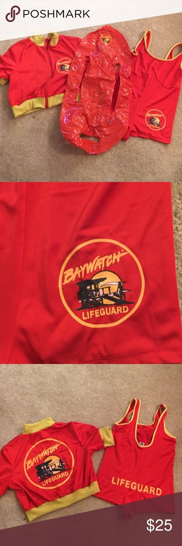 Women's size M lifeguard Halloween costume Super cute cheeky lifeguard costume. I have a funny men's costume in my closet too. Other