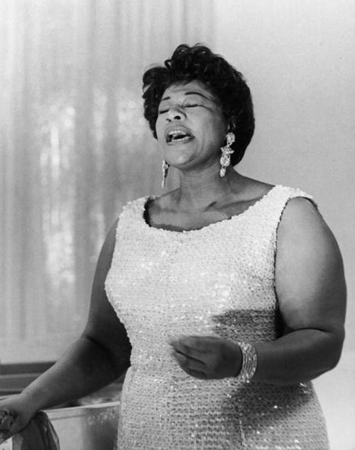 Ella Fitzgerald, 1950. Curves and then some, Her voice was so awesome. If you have never heard her sing you need to.