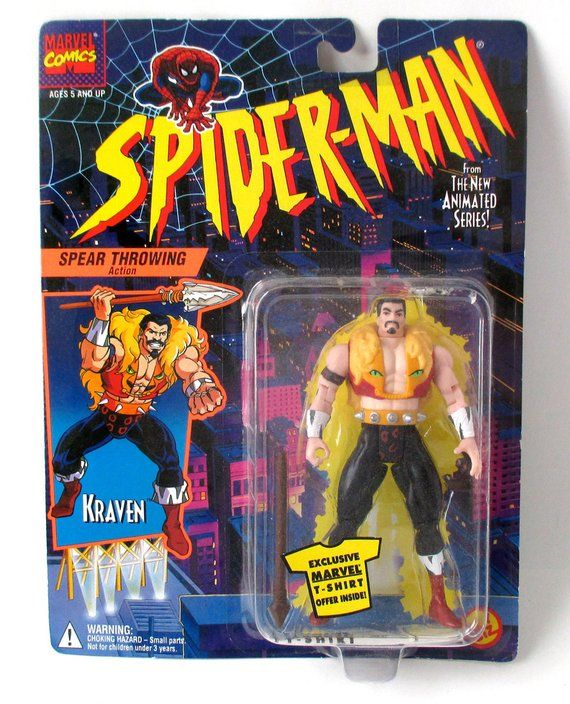 1994 Marvel Toy Biz Kraven the Hunter Action Figure Only