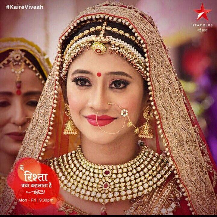 Naira as a beautiful bride
