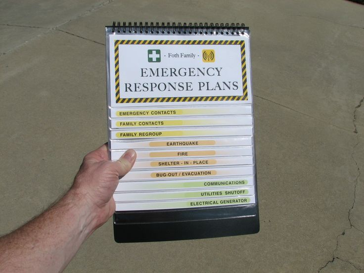 Best  Emergency Response Plan Ideas On   My Free
