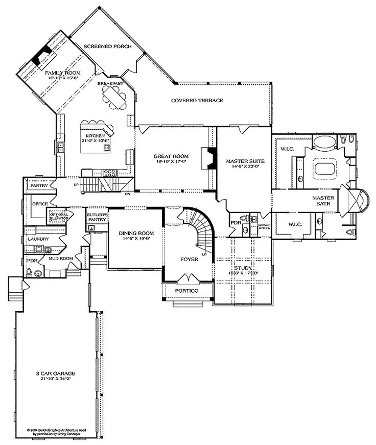 Awesome Floor Plans with Side Entry Garage