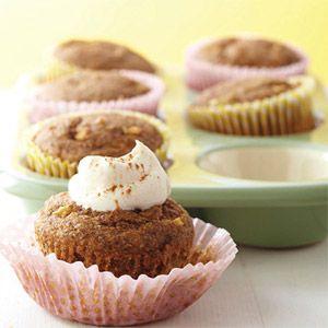 Apple-Spice Cupcakes - Diabetic Friendly