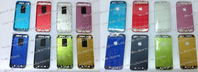 Colored Iphone 5 Housings WITH Glowing Apple Logo