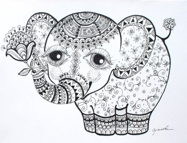 mandala coloring pages - | ACP - Elephants | Pinterest | Mandala ...