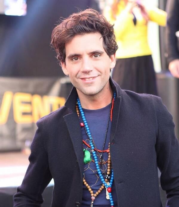 Mika at a signing event in Bergamo, Italy Dec 2013