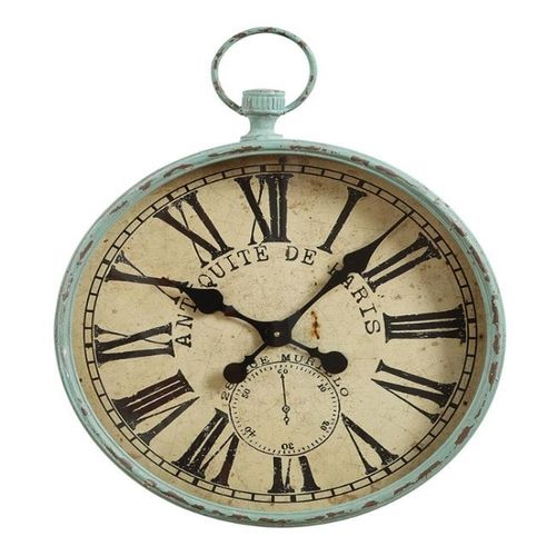 Iron pocket watch wall clock