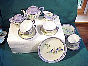 CHILD\u0027S TEA SET W/PLATTER H.P. Please click on the image for more information. & 138 best Children\u0027s Tea Sets images on Pinterest | Childrens tea ...
