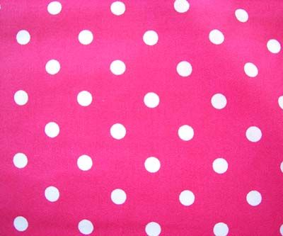 Because PINK uses a lot of polka dots in their stores, in their items, and on the merchandise