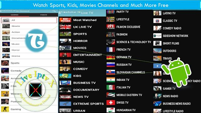 Watch World TV Live Channels On Android Devices With TimeTeller Live TV Android Apk   Live TV Android Apk[ Iptv APK] : TimeTeller Live TV- Live TV APK- In this apk you canWatch over 300 Live TV Channels from the USA UK Germany Italy Russia Europe Asiaand