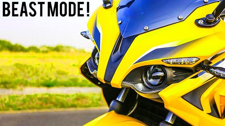 RS200 Bajaj Pulsar : Beauty with Beast Effect | DilliWalaHoney MotoVlogger