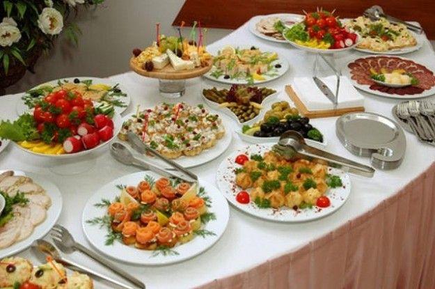 Idee per una cena a buffet