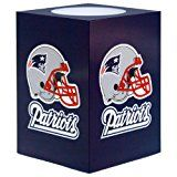 NFL New England Patriots Square Flameless Candle