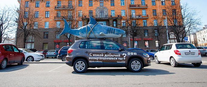 реклама на крыше автомобиля - Поиск в Google